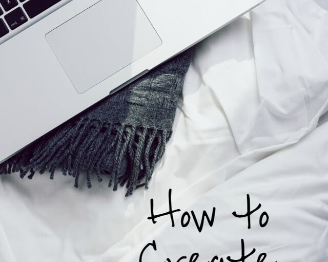 How to create your bedtime routine