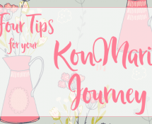 Four Tips for your KonMari Journey
