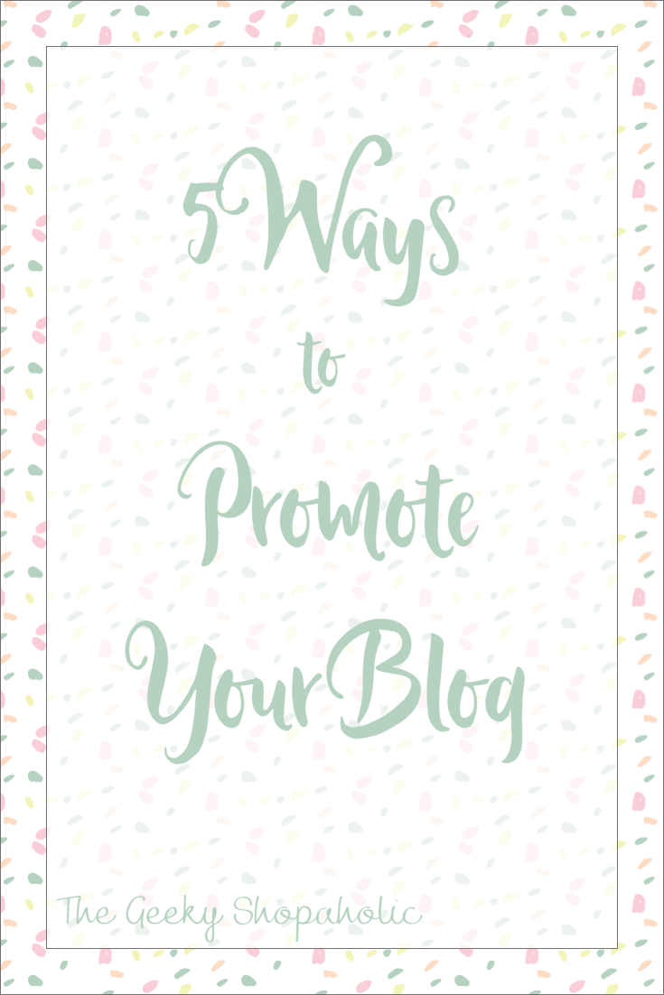 What Im Doing to Promote My Blog
