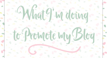 What I'm Doing to Promote My Blog