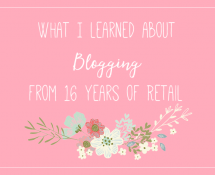 Four Retail Principles that can be applied to your Blog