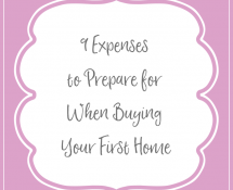 9 Expenses to Prepare for When Buying Your First Home