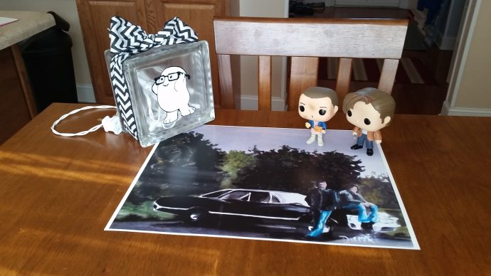 My birthday gifts from Cap!